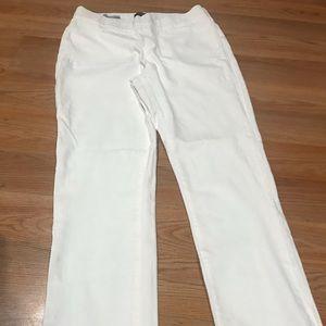 NYDJ white Alina jean size 8